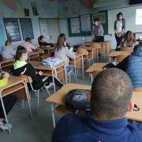 Predavanje u Gimnaziji